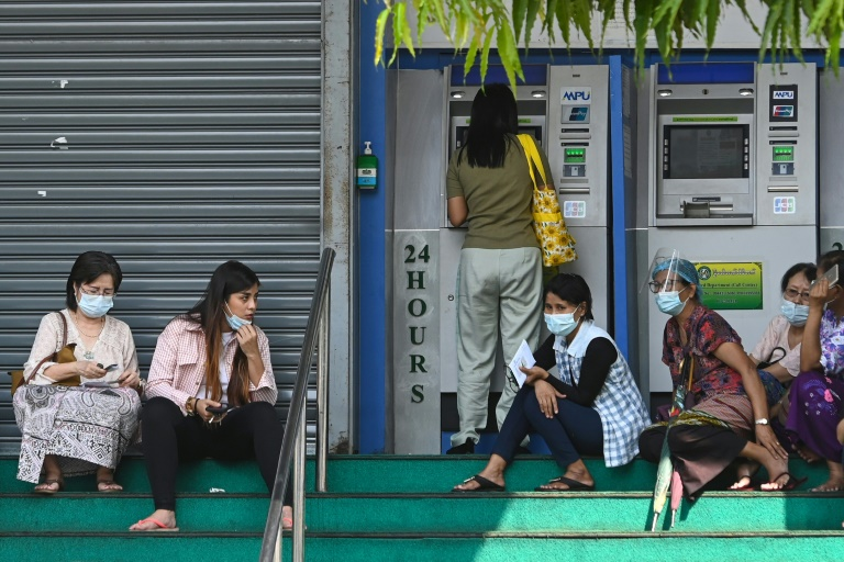 Myanmar's military coup creates banking woes