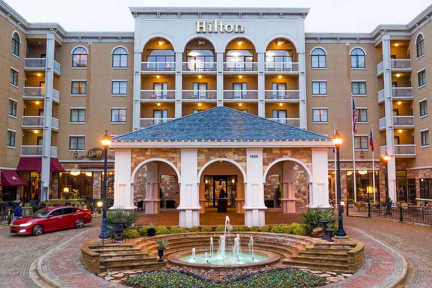 Driftwood Capital recently bought the Hilton Dallas Southlake Town Square hotel but got a loan from the seller for around 75% of the price. (Photo: Driftwood Capital)