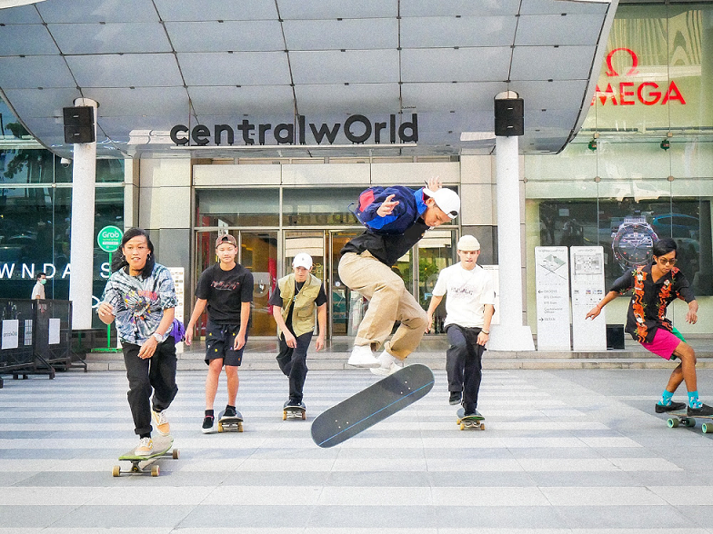 Surf-skate's up! Central Pattana transforms free space into extreme sports hotspots
