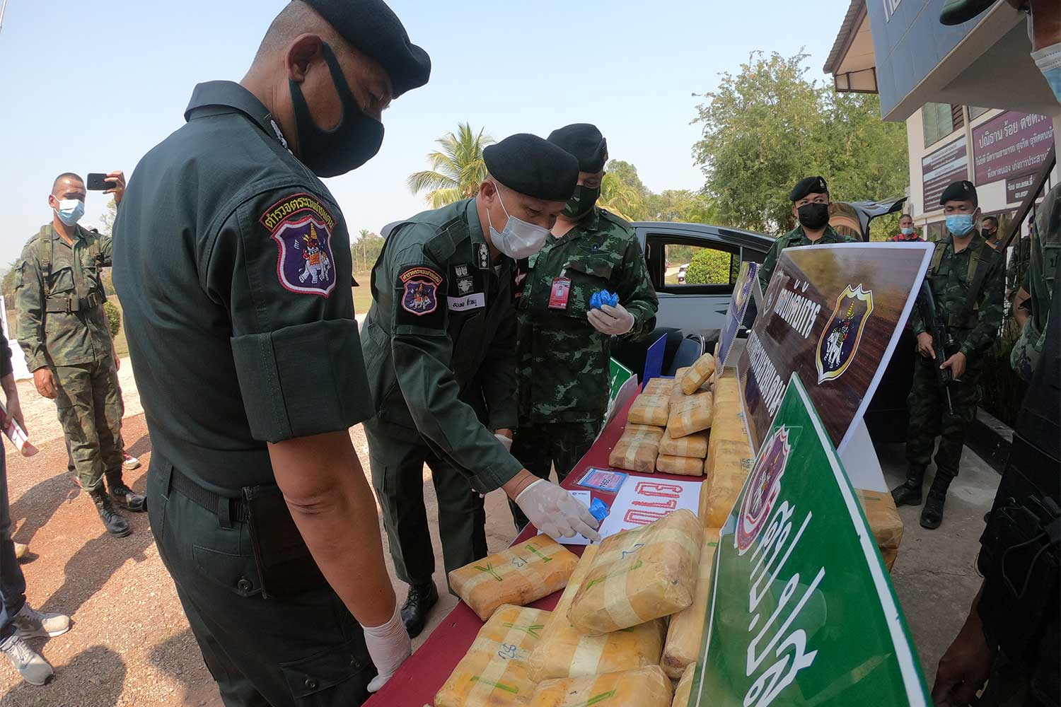600,000 speed pills seized in Nakhon Phanom
