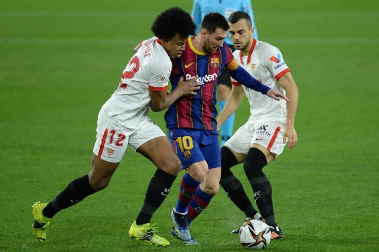 Lionel Messi has scored 12 times in Barcelona's last 12 trips to Sevilla in La Liga
