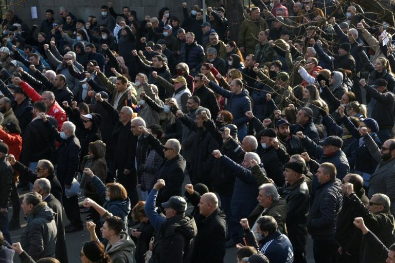 Armenia crisis grows as president blocks bid to fire army chief