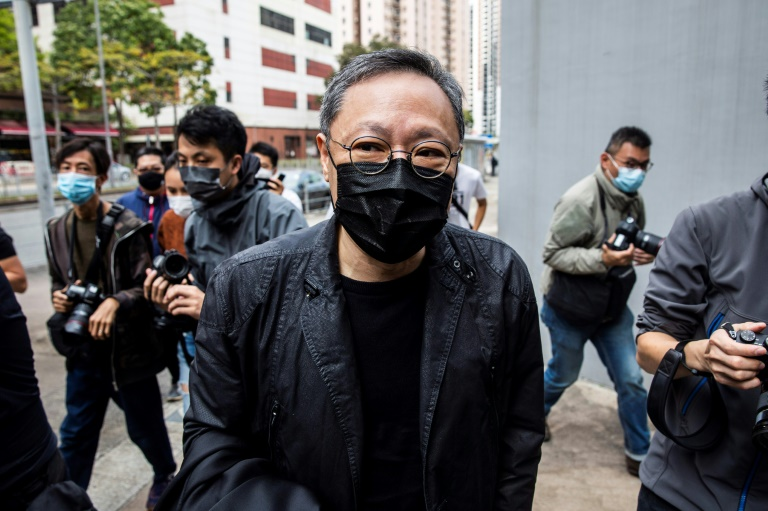Dozens of Hong Kong dissidents charged with security crime