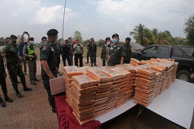 500kg ganja seized in Nakhon Phanom