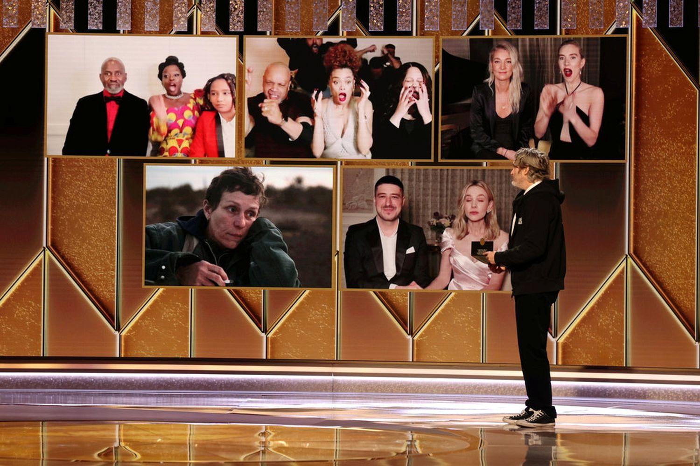 Netflix, Disney win big at Golden Globes