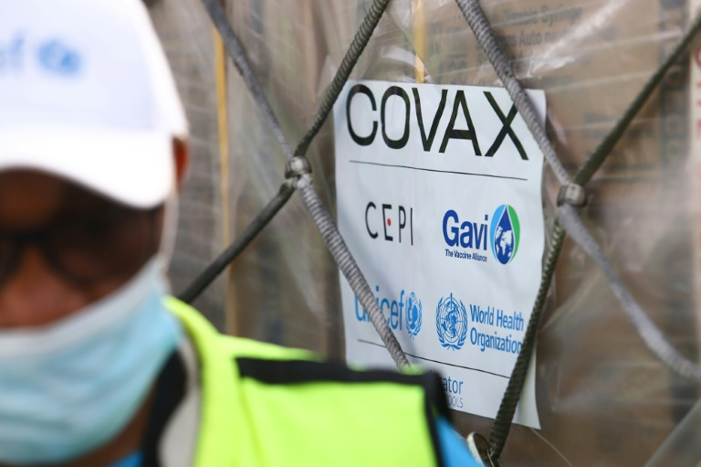 The Covax vaccines arrived in Ghana on February 24 -- the first in a global rollout to poorer countries.