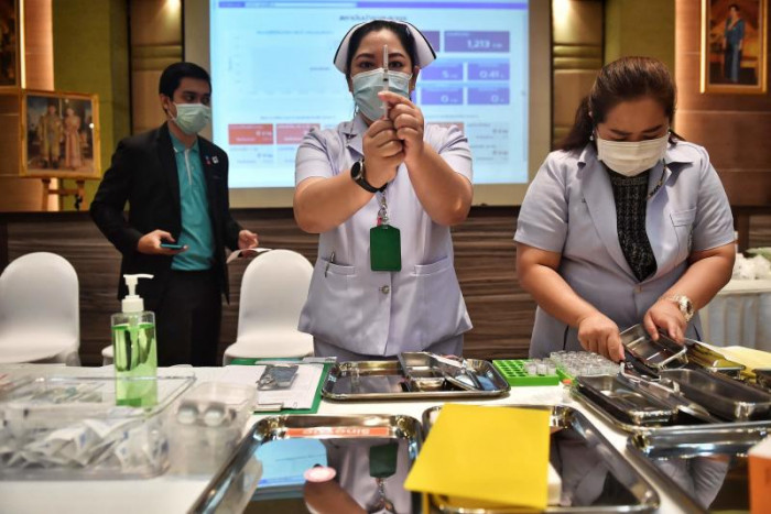 Image Thailand logs 42 Covid cases, 1 death Tuesday