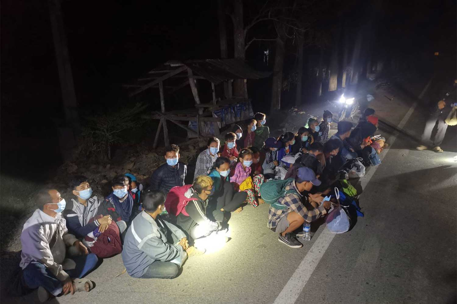More Myanmar arrested for illegal entry, Thai guide caught