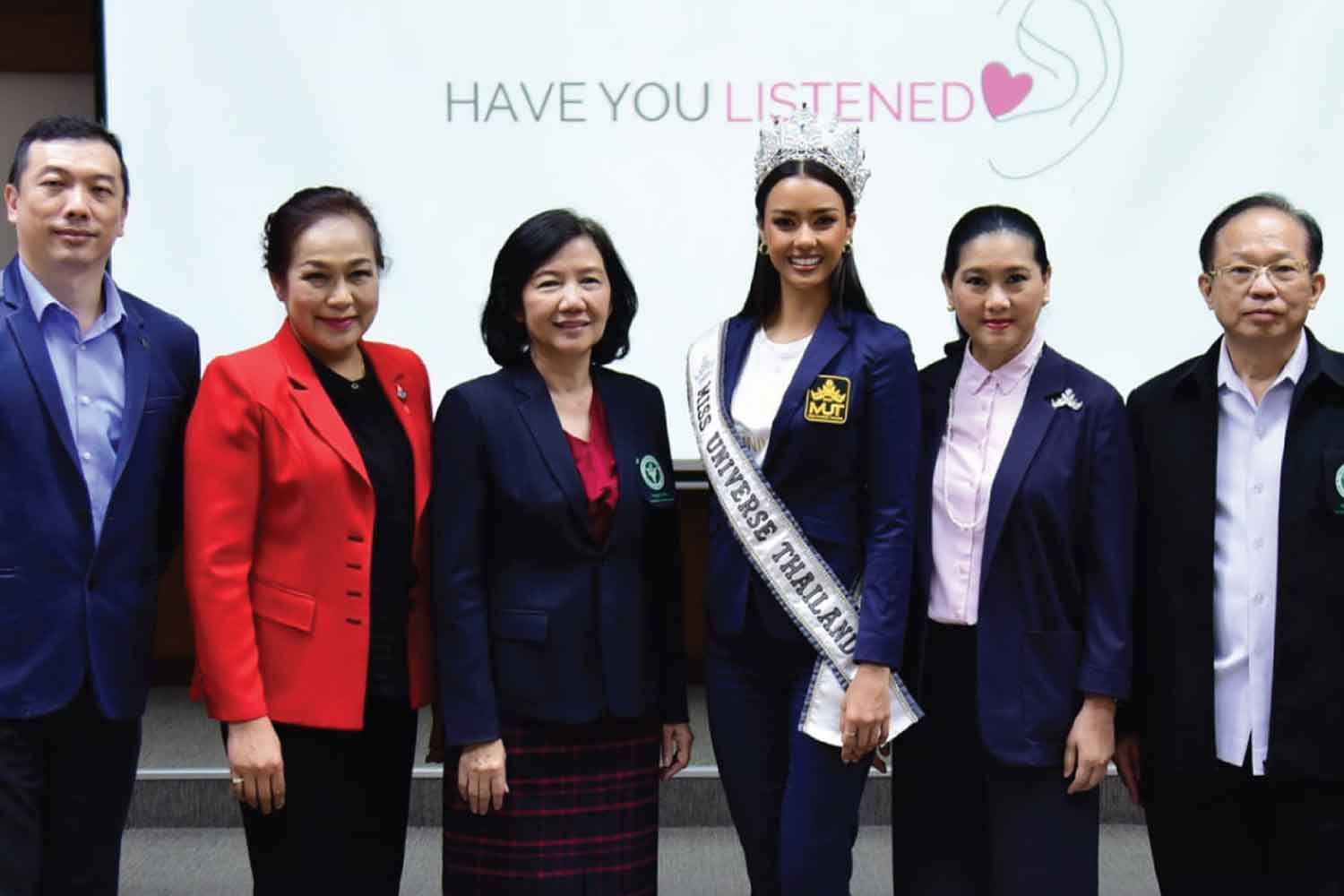 Beauty queen sacked as mental health ambassador
