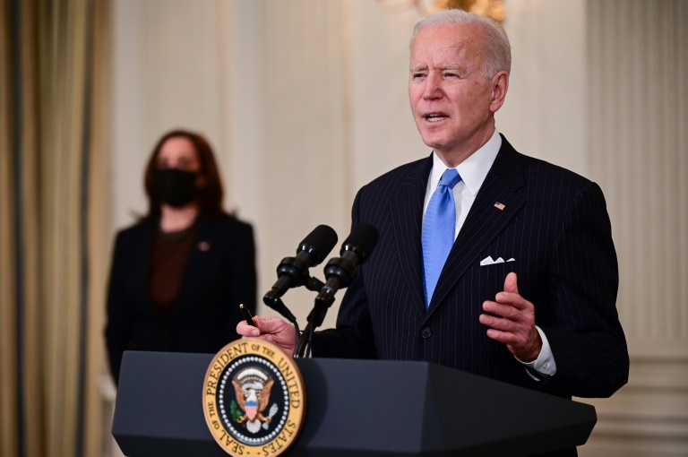 US will have enough vaccine supply for all adults by end May: Biden