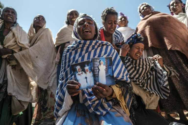 Residents of the Tigrayan village of Dengolat say Eritrean soldiers massacred men and boys there the day after a holy festival
