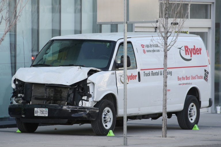 Toronto van attacker found guilty of killing 10, injuring 16