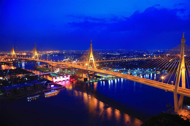 Both Bhumibol bridges to be resurfaced, 6-month partial closure