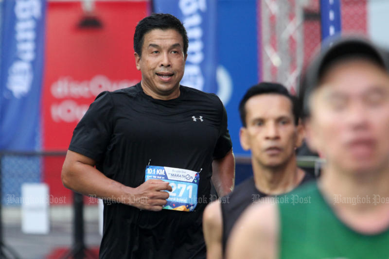 Chadchart Sittipan is the current favourite for new Bangkok governor in a Nida poll. (Bangkok Post file photo)