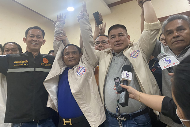 Palang Pracharath beats Democrat in southern by-election