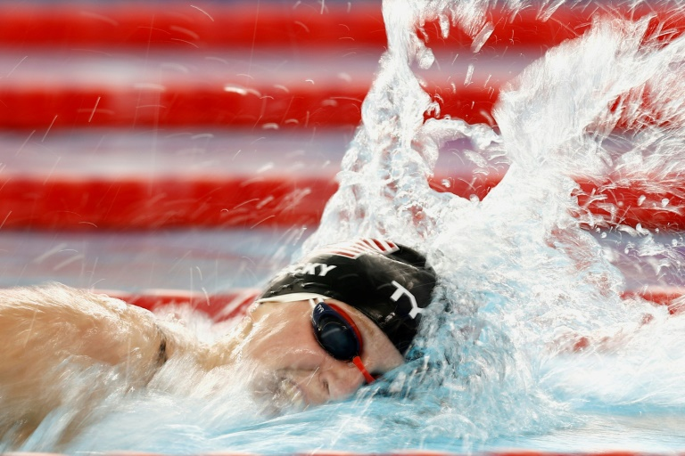 Ledecky nabs fourth win at Texas Pro Swim