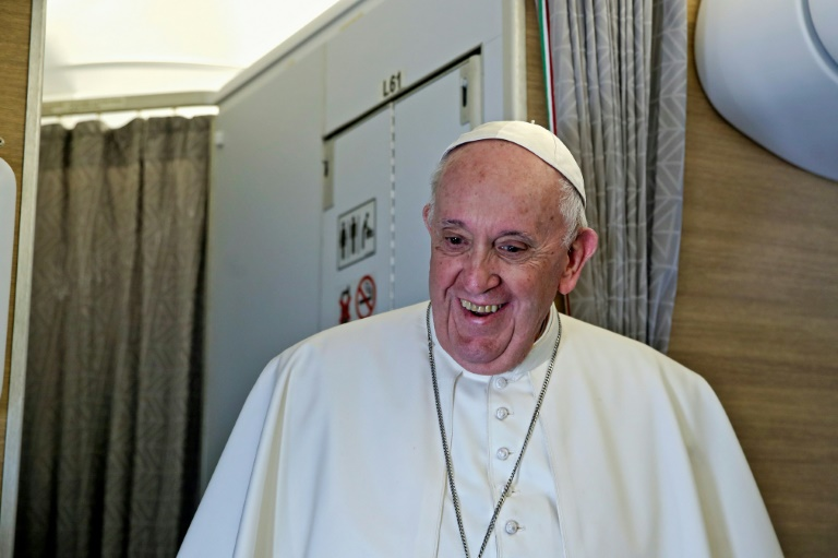 Pope says meeting Shiite cleric 'good for my soul'