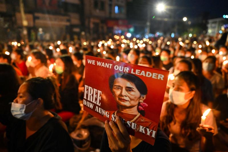 Martial Law Announced in Parts of Myanmar's Largest City