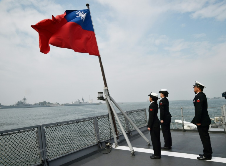 Democratic and self-ruled Taiwan split from China at the end of a civil war in 1949 and exists under the constant threat of invasion by the mainland.