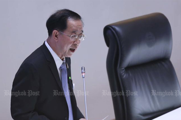 Finance Minister Arkhom Termpittayapaisith (Bangkok Post file photo)