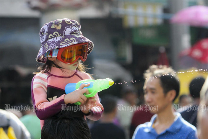 Songkran water fights officially banned