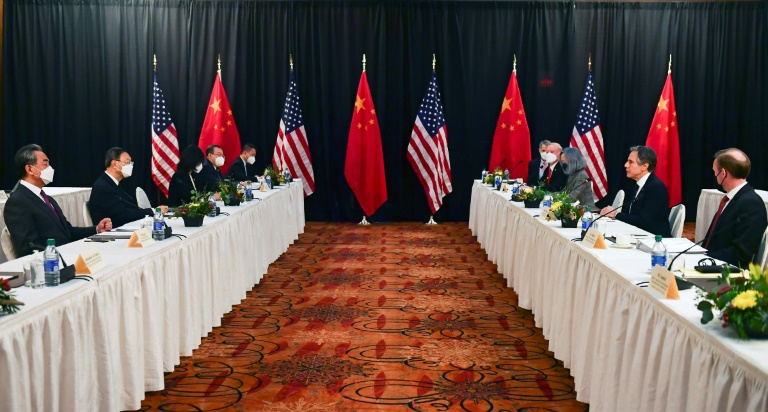 United States official accuses China of 'grandstanding' in tense bilateral talks