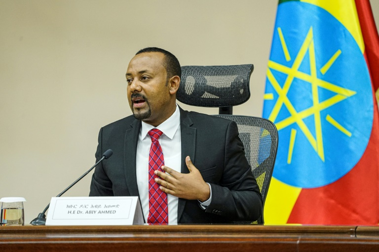Ethiopian Prime Minister Abiy Ahmed, pictured speaking in parliament last November