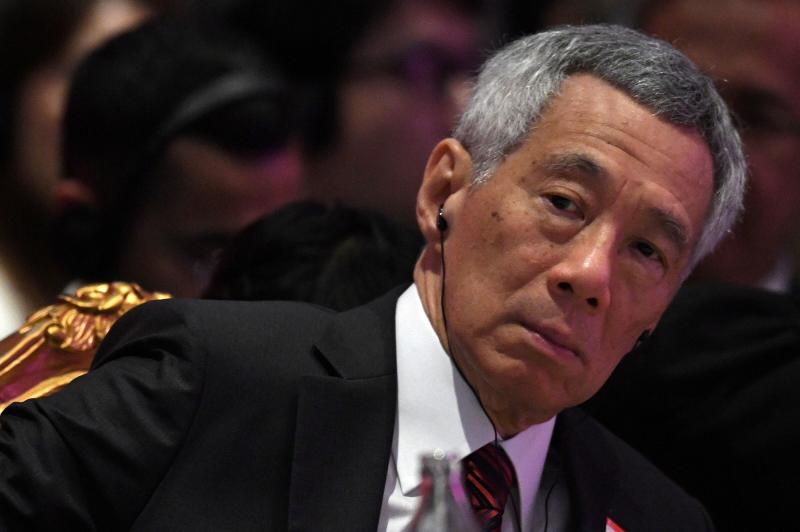FILE PHOTO: Singapore's Prime Minister Lee Hsien Loong attends the 22nd ASEAN Plus Three Summit in Bangkok, Nov 4, 2019. (Reuters file photo)