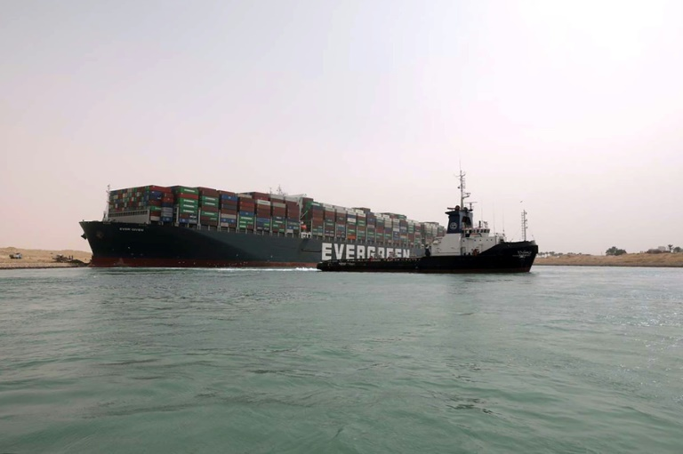 Ever Given Ship Blocking Suez Canal Successfully Freed