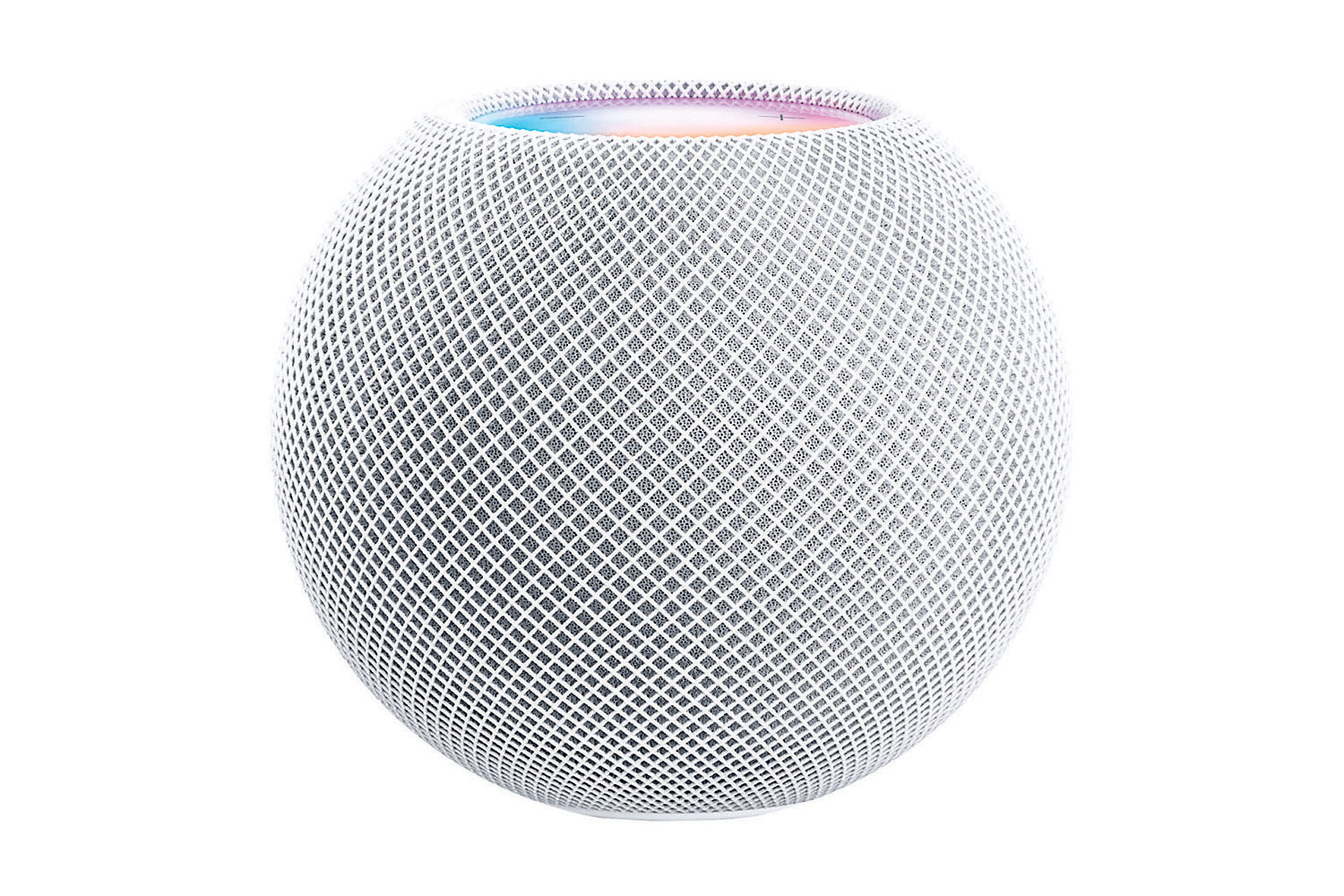 Apple's HomePod mini is seen in a photograph released in Cupertino, California, U.S. October 13, 2020.