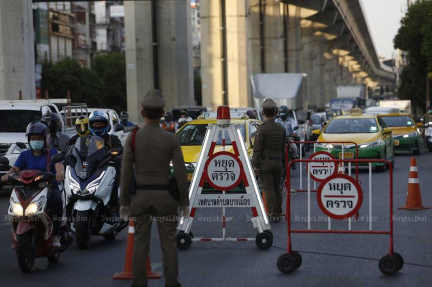 From April 1, police checkpoints will be back on the roads - with surveillance cameras and officers wearing body cameras to ensure transparency. (File photo)