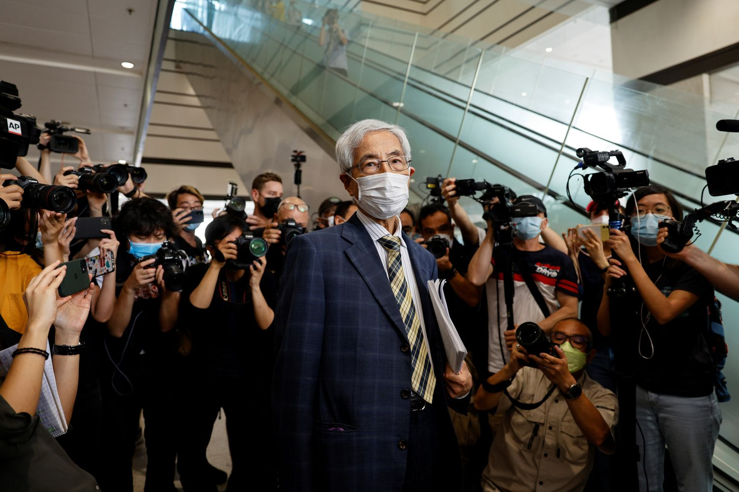 Seven prominent Hong Kong pro-democracy advocates convicted as China clamps down