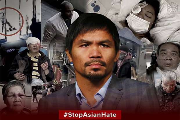 Boxing legend and senator Manny Pacquiao (Photo from @MannyPacquiao Twitter account)