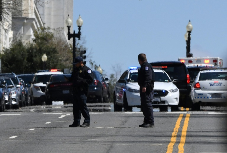 Officer dies after man rams vehicle into barrier outside U.S. Capitol