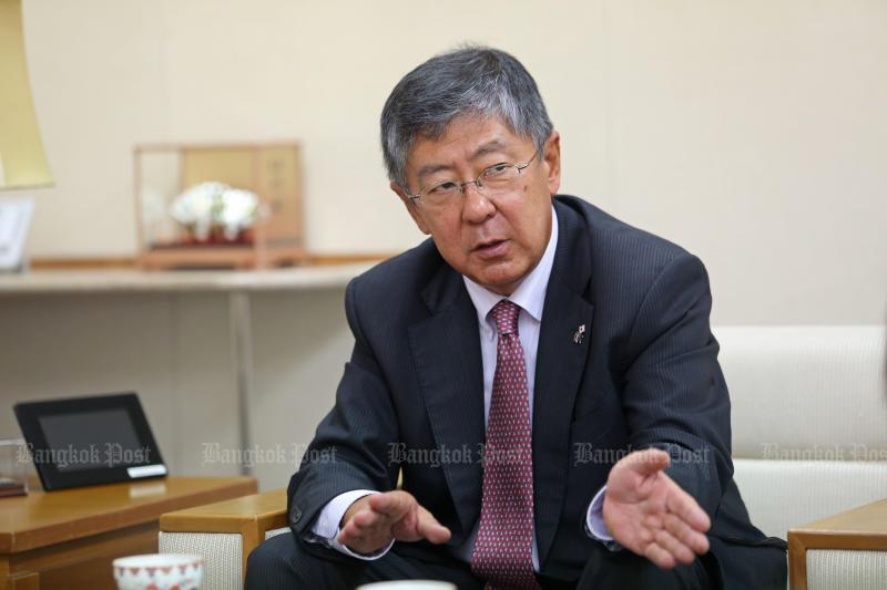 Japanese ambassador to Thailand Kazuya Nashida