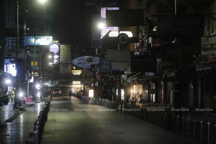 City bars in three districts shut