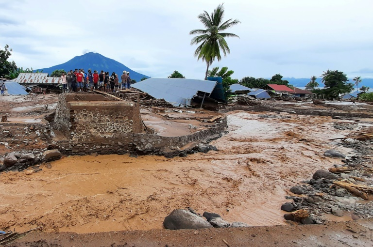 Torrential rains from Tropical Cyclone Seroja, one of the most destructive storms to hit the region in years, turned small communitiesinto wastelands of mud.