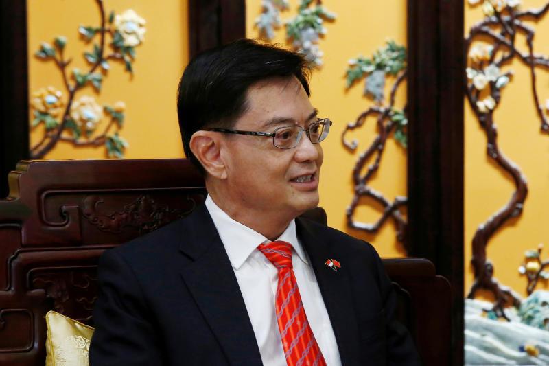 Singapore Deputy Prime Minister Heng Swee Keat (Reuters photo)