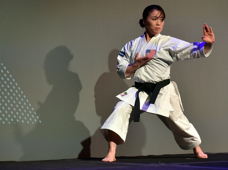 US Olympic karate practitioner Sakura Kokumai says she will use her platform to raise awareness of violence against Asian-Americans.