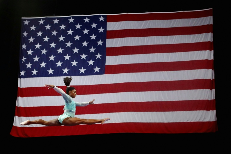US gymnastics star Simone Biles says she may reconsider her decision to retire after the Tokyo Olympics