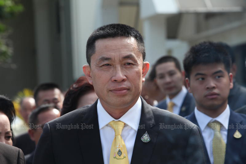 According to the timeline released on Thursday, Transport Minister Saksayam Chidchob never went near Thong Lor. But aides visited a nightspot there and that is how he contracted the coronavirus, according to the public health office in the minister's home province of Buri Ram. (Bangkok Post file photo)