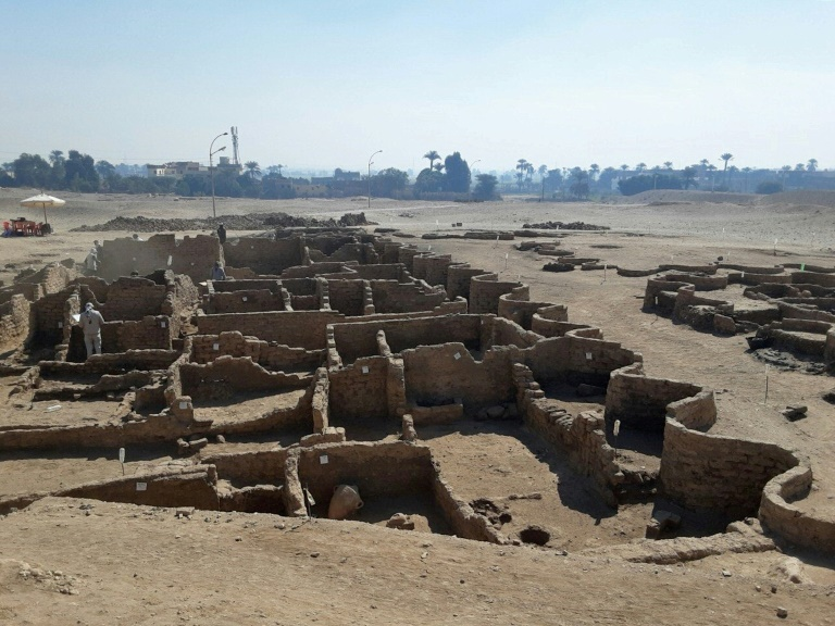 The excavation team say the ancient city uncovered near Luxor is the