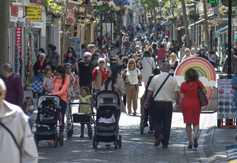 Gibraltar has become one of the first places in the world to vaccinate the bulk of its adult population against Covid-19, allowing life to almost return to normal.