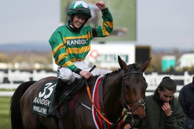 Blackmore becomes first woman jockey to win Grand National