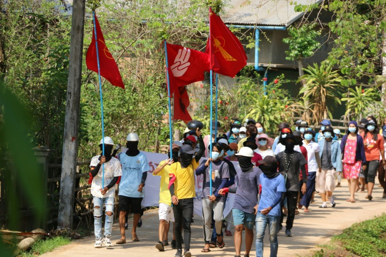 Myanmar's post-coup civilian death toll climbs past 700