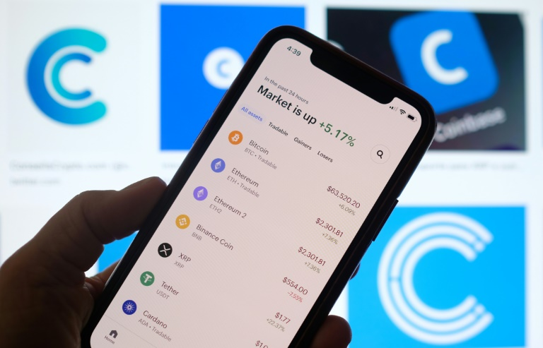 Coinbase wows in Nasdaq debut amid cryptocurrency frenzy