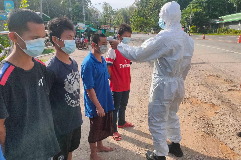More Myanmar job-seekers held for illegal entry