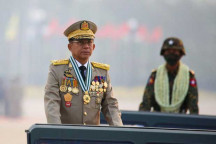 Junta leader to attend summit