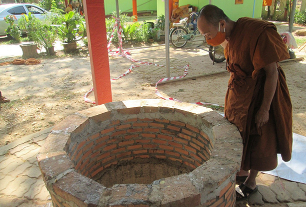 Man found dead in temple well