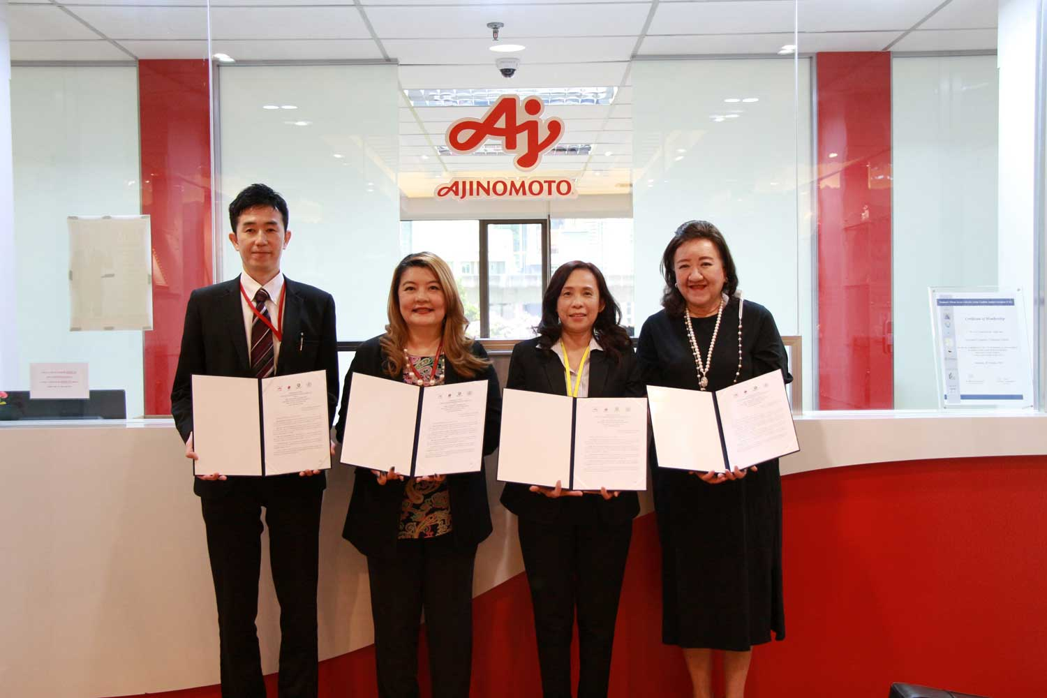 Ajinomoto joins hand with three partners to create weather insurance for Thai farmers